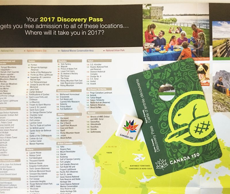 Celebrate Canada's 150th Birthday with a Parks Canada Discovery Pass #Canada150