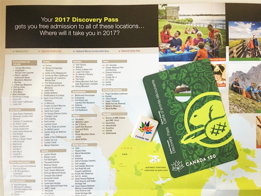 Canada 150 Discovery Pass