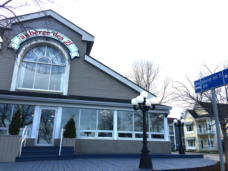 Auberge des 21 hotel in la Baie, Quebec
