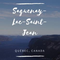 Saguenay-Lac-Saint-Jean Québec Canada