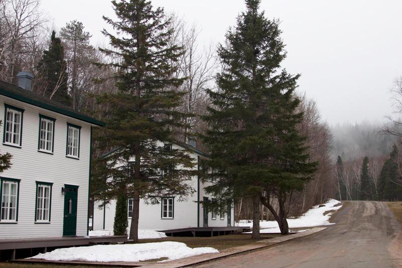 Village historique de Val-Jalbert Saguenay-Lac-Saint-Jean region Québec, Canada