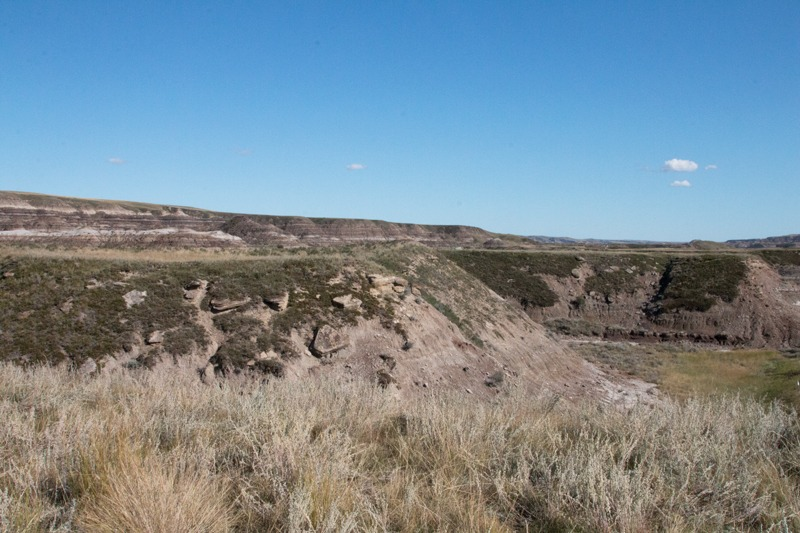 Drumheller Hills in Alberta