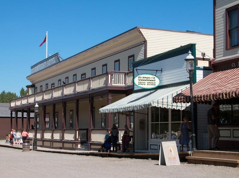 Heritage Park Calgary Street