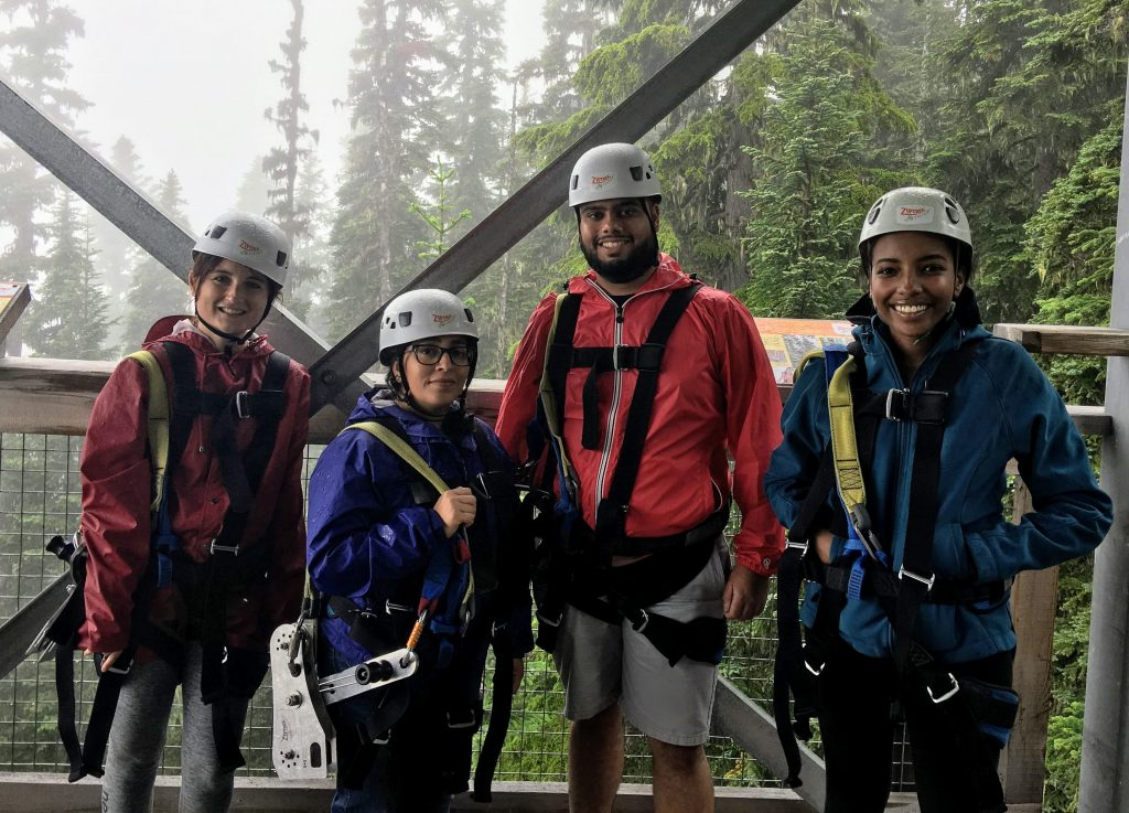 ZipTrek Ziplining Whistler in Summer